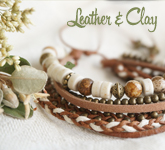 Leather & Clay
