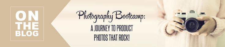 Photography Bootcamp: A Journey to Product Photos that Rock!