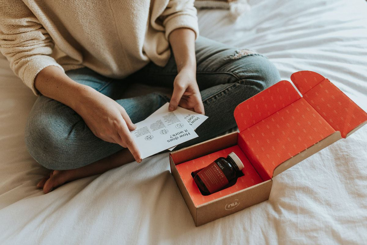 Include feedback reminders a part of your product packaging to provide yet another timely reminder for customers that you would love to hear about their experience