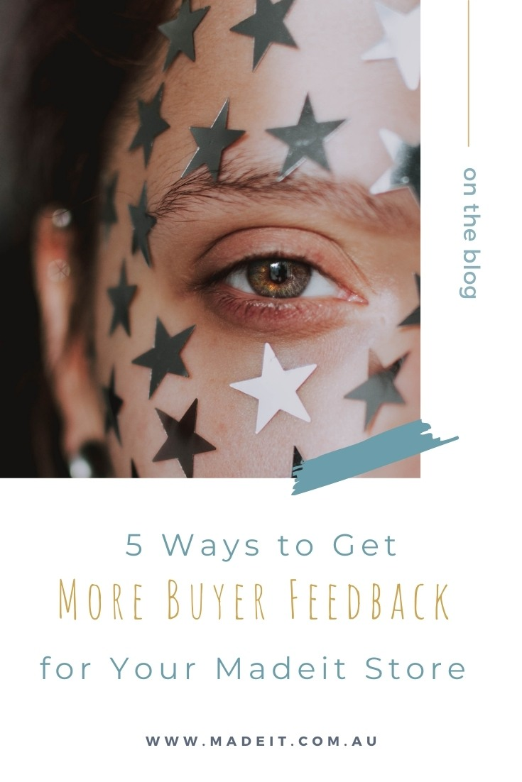Did you know that nearly 90% of buyers trust online reviews as much as personal recommendations? The value of feedback for encouraging sales is undoubtable, but even though you've got a great product and provide a great service, it's not always easy to get customers to leave a glowing review. Discover some practical tips on how to encourage more feedback for your Madeit store, and how to make your feedback work harder for your handmade brand.