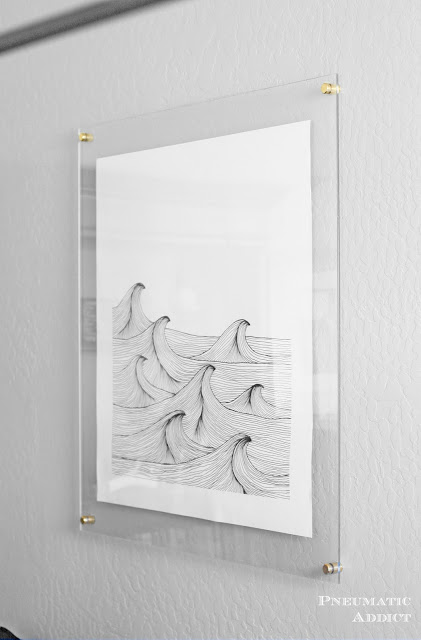 Create your own acrylic frames