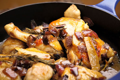 Maggie Beer's Chicken Braised with Figs