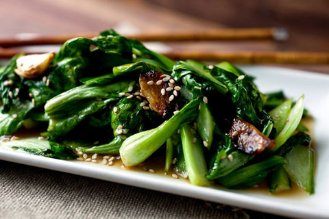 Stir-fried Bok Choy