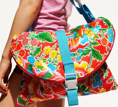 Waterproof Messenger Bag by ClickClackPiggyBack