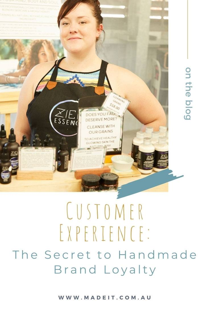 Focus on your customer first to build a solid reputation and loyal following for your handmade brand. Pictured: Charlotte's Lab
