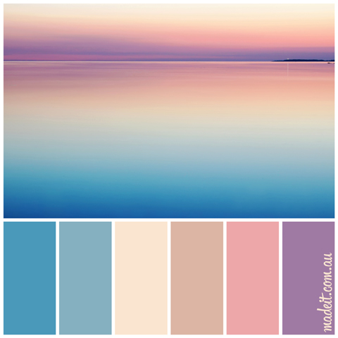 Pretty Pastel Palettes for a Dreamy Festive Feel:  festive fairy floss.