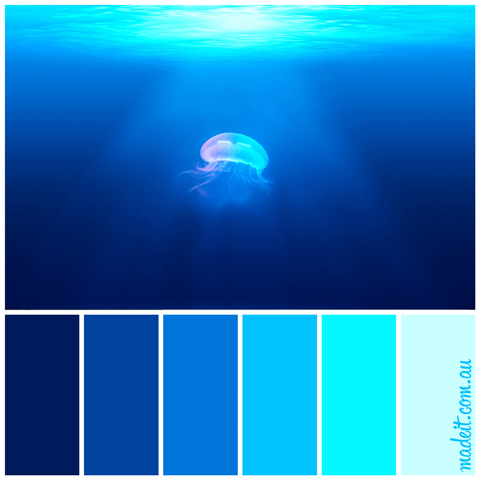 Colour Inspiration: Ocean Shades