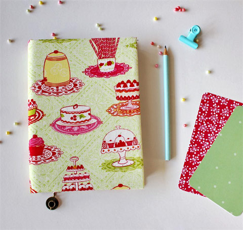 Recipe book by Stylish Paper