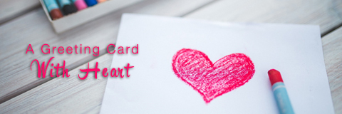 A Greeting Card with Heart