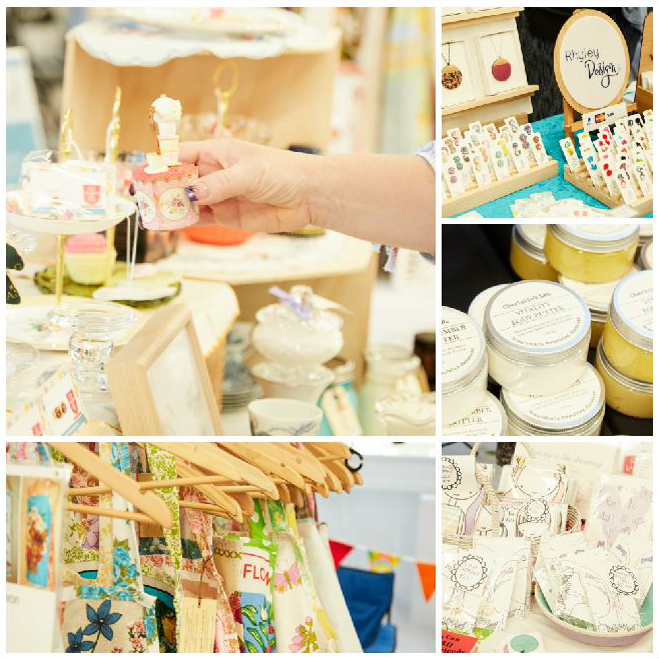 Handmade goodies from the Madeit makers' village at Sweet Expo Melbourne