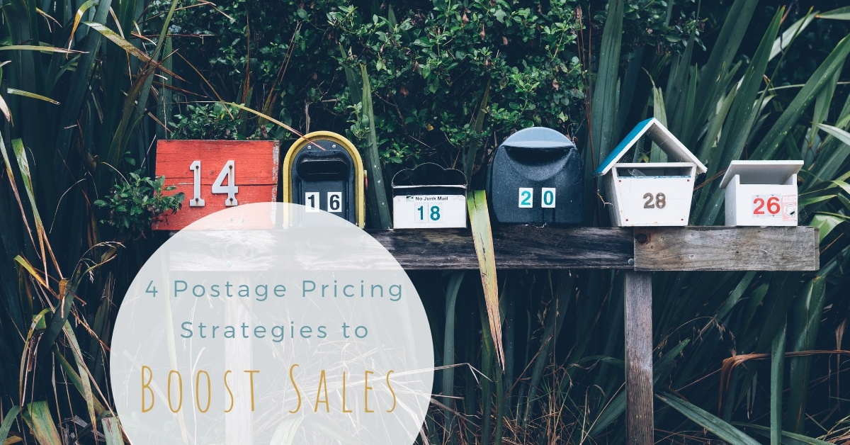 How shipping prices affect sales and 4 postage pricing strategies to try in your handmade business