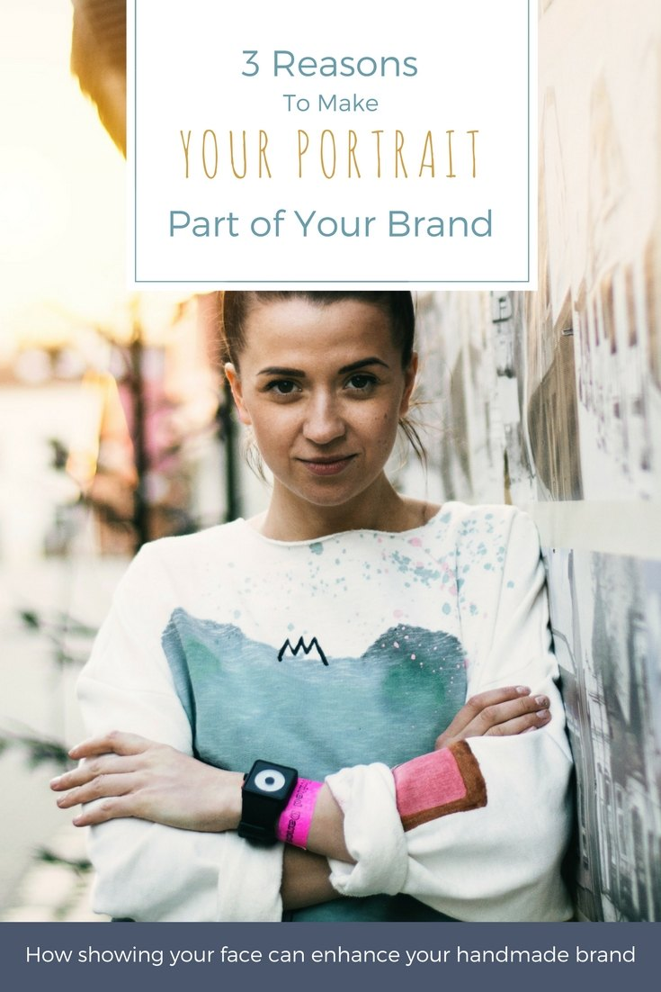 3 Reasons to include a professional portrait in your branding for your creative business