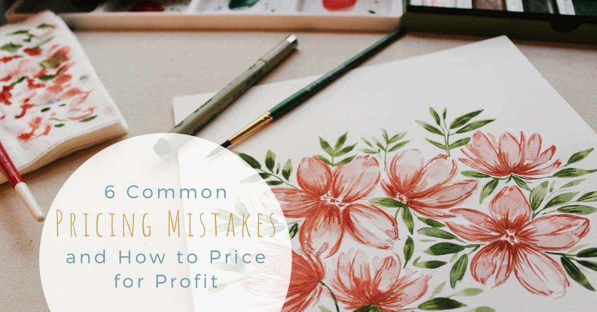 We all know cheaper is not always better, so why are a staggering 94% of women in business undercharging? Not only does offering the cheapest prices for your handmade goods not guarantee more sales, but it can even deter customers. Business Strategist, Melanie Miller explains how to avoid common pricing mistakes in your handmade business.