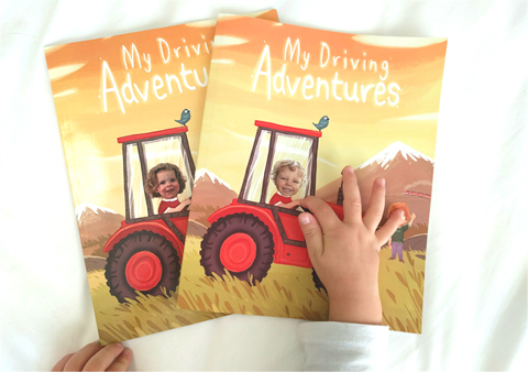Driving Adventure by There I am Storybooks