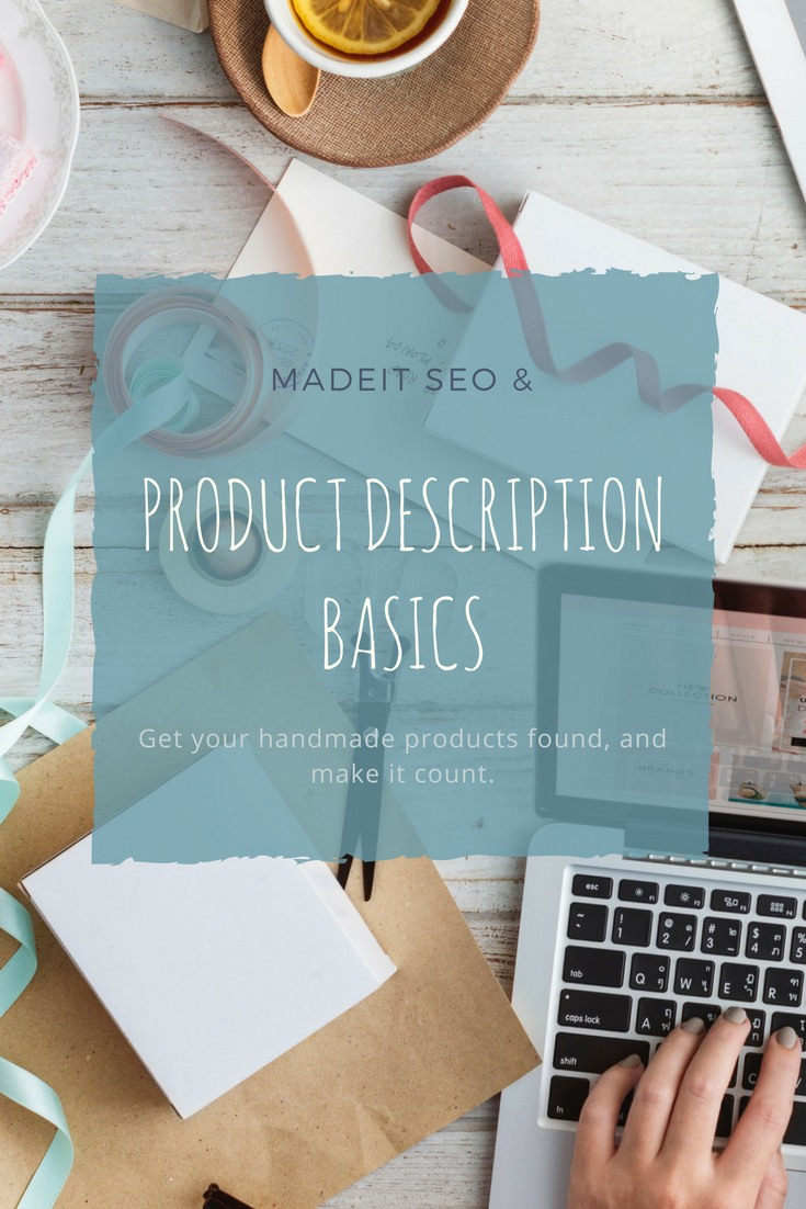 Sell more or your art and craft online with these simple tweaks to your product descriptions.