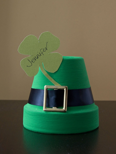 St Patrick's Day Place Card Holder