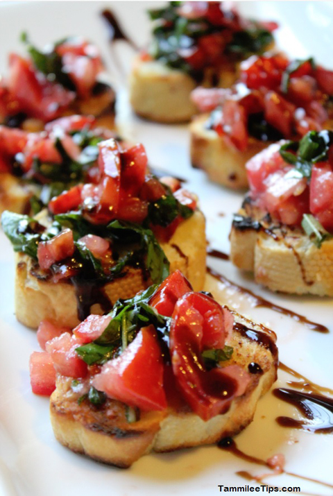 5 Healthy Summer Recipes: Super Easy Bruschetta