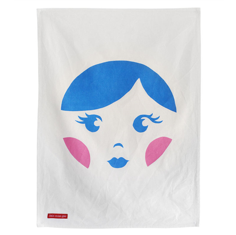 Little Miss Gee 'Babushka' tea towel