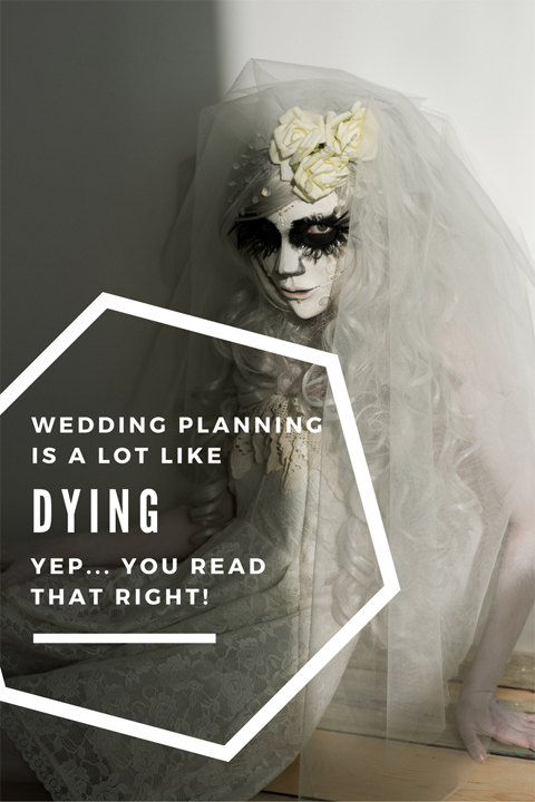 Wedding Planning driving you crazy? This week guest blogger, Paige from Forests of Wildflowers, compares planning a wedding to Kübler-Ross's 5 Stages of Dying