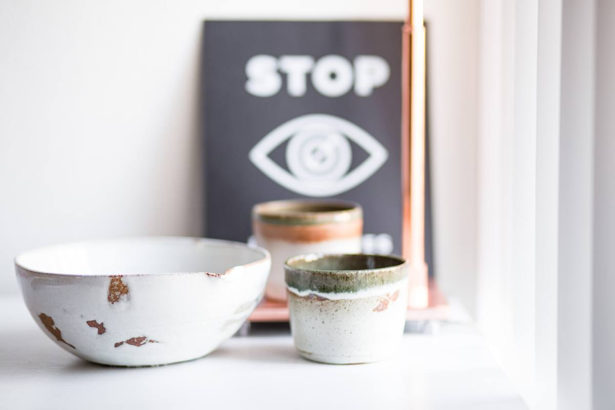 Stop and look: Ceramic bowls photographed to catch attention