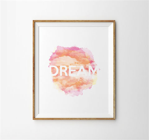 Dream Watercolour Print