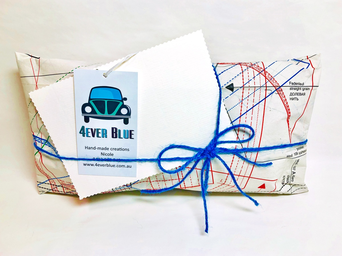 4Ever Blue gift wrapping
