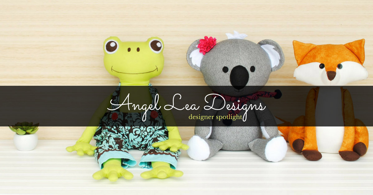 Anthea does what she's always loved: sewing and designing