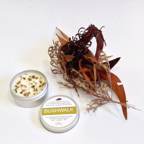 'Bushwalk' Bush Tin Soy Candle