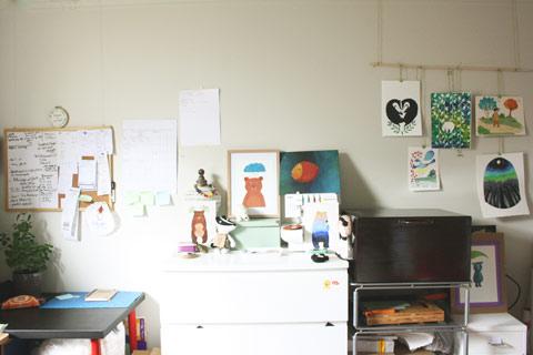 Aurore's workspace