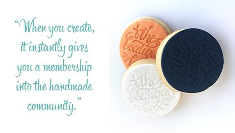 Made It Designer Spotlight: Custom branded cookies by Dough Re Mi