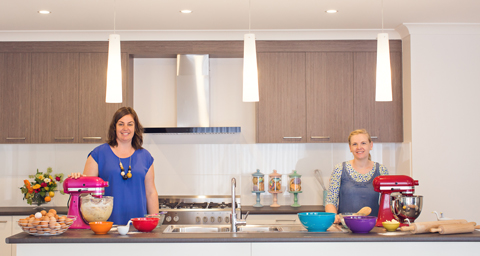Made It Designer Spotlight: The Dough Re Mi duo at home in the kitchen