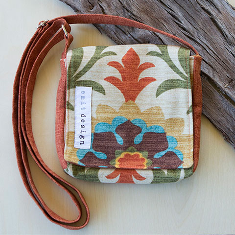 Made It Designer Spotlight: Emit Design's handcrafted satchels and accessories in nature's hues