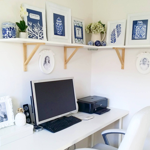 Made It Designer Spotlight: Fairydust Stylish Stationery studio (in blue)