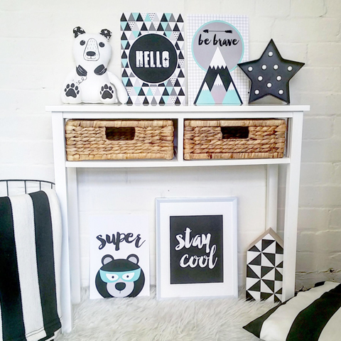 Made It Designer Spotlight: Fairydust Stylish Stationery prints for the boys