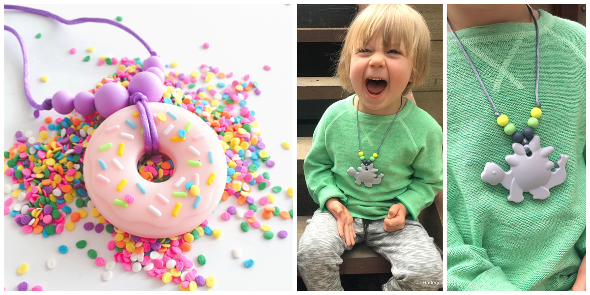 Durable Kids' Jewellery: Donuts and Dinosaurs