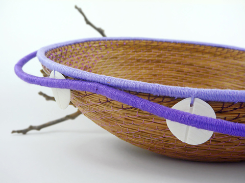 Made It Designer Spotlight: Handwoven Spirit by Chantal's 'May Flower' basket