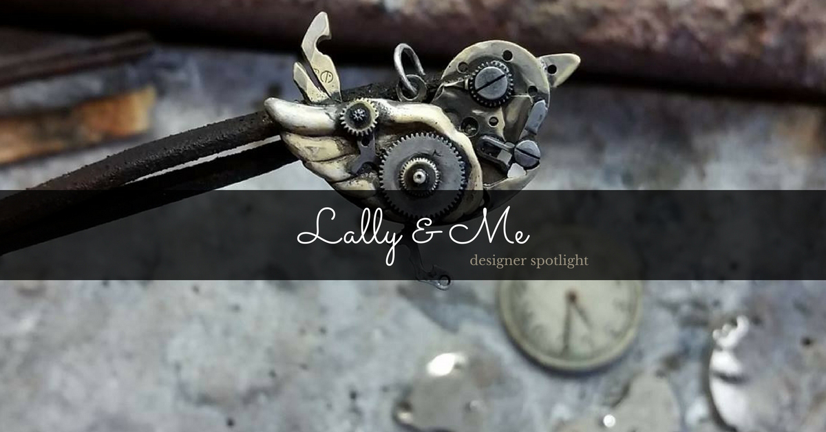 Mikey and Lally breathe new life into old things, creating sustainable jewellery