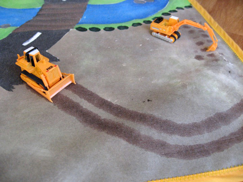 Play mat under construction