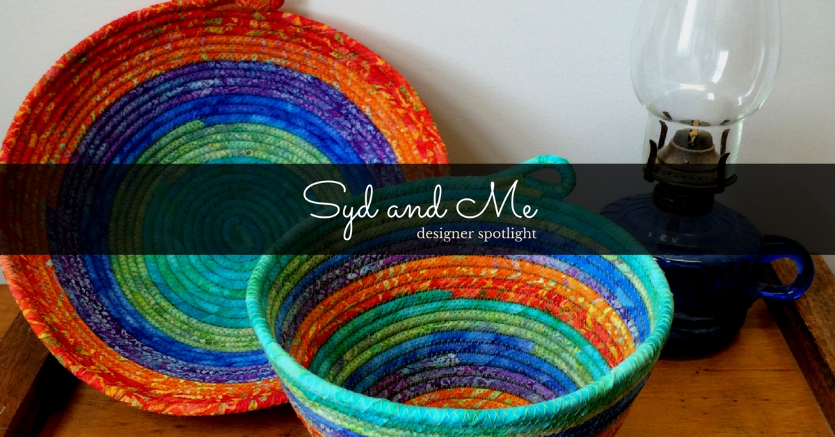 Initially influenced by her grandmother, Leanne weaves her creativity into colourful baskets