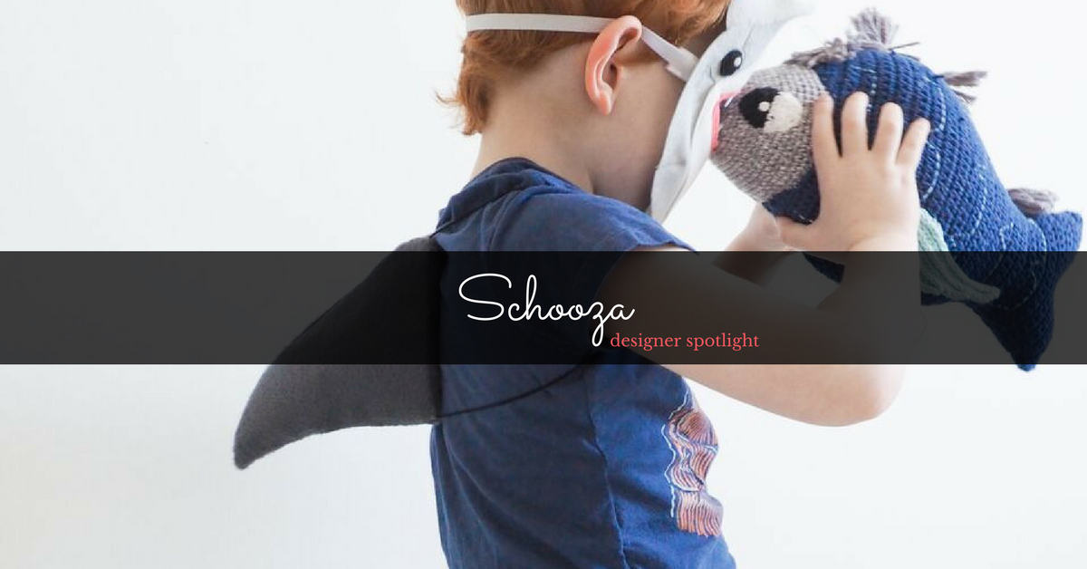 Schooza creator, Liz, creates costumes that embrace fun-filled imaginative play