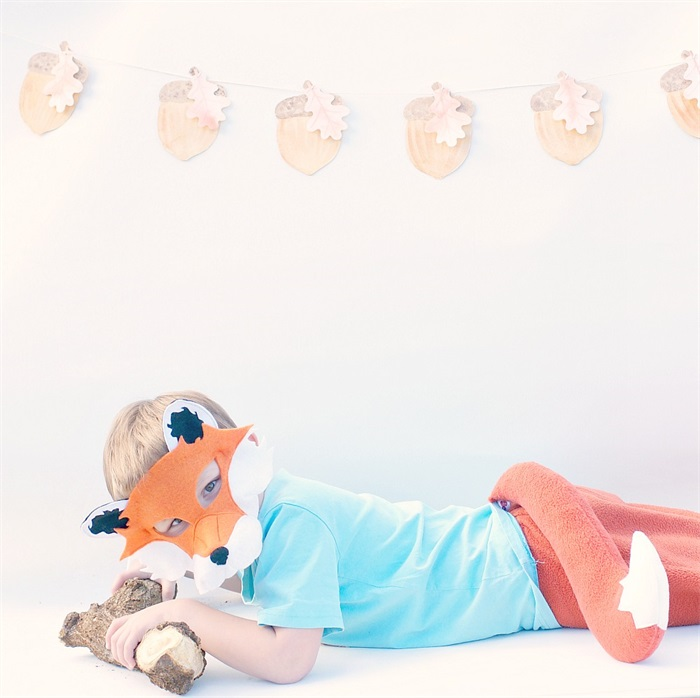 Fox book week / Halloween / fancy dress costume by Schooza