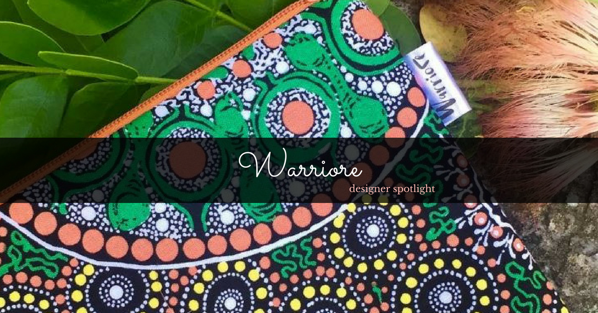 Orla creates every day bags and accessories in Australian Indigenous fabrics.