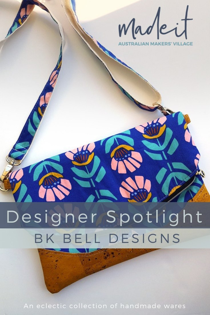 A creative fiddler, Belinda will give any creative pursuit a go, and she creates an eclectic range of handmade wares, from cork leather and jacquard bags, to alcohol ink artworks, unified by a theme of colour and vibrancy
