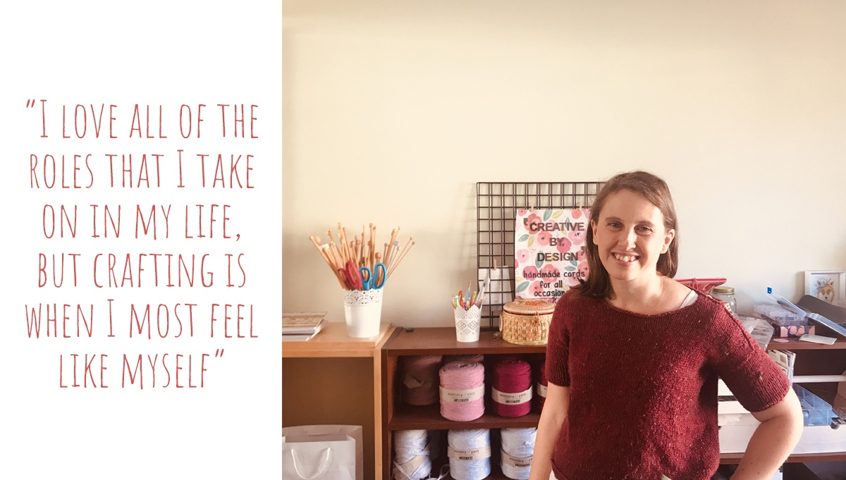 Carolyn from Creative By Design in her home craft room: 'I love all of the roles that I take on in my life, but crafting is when I most feel like myself'