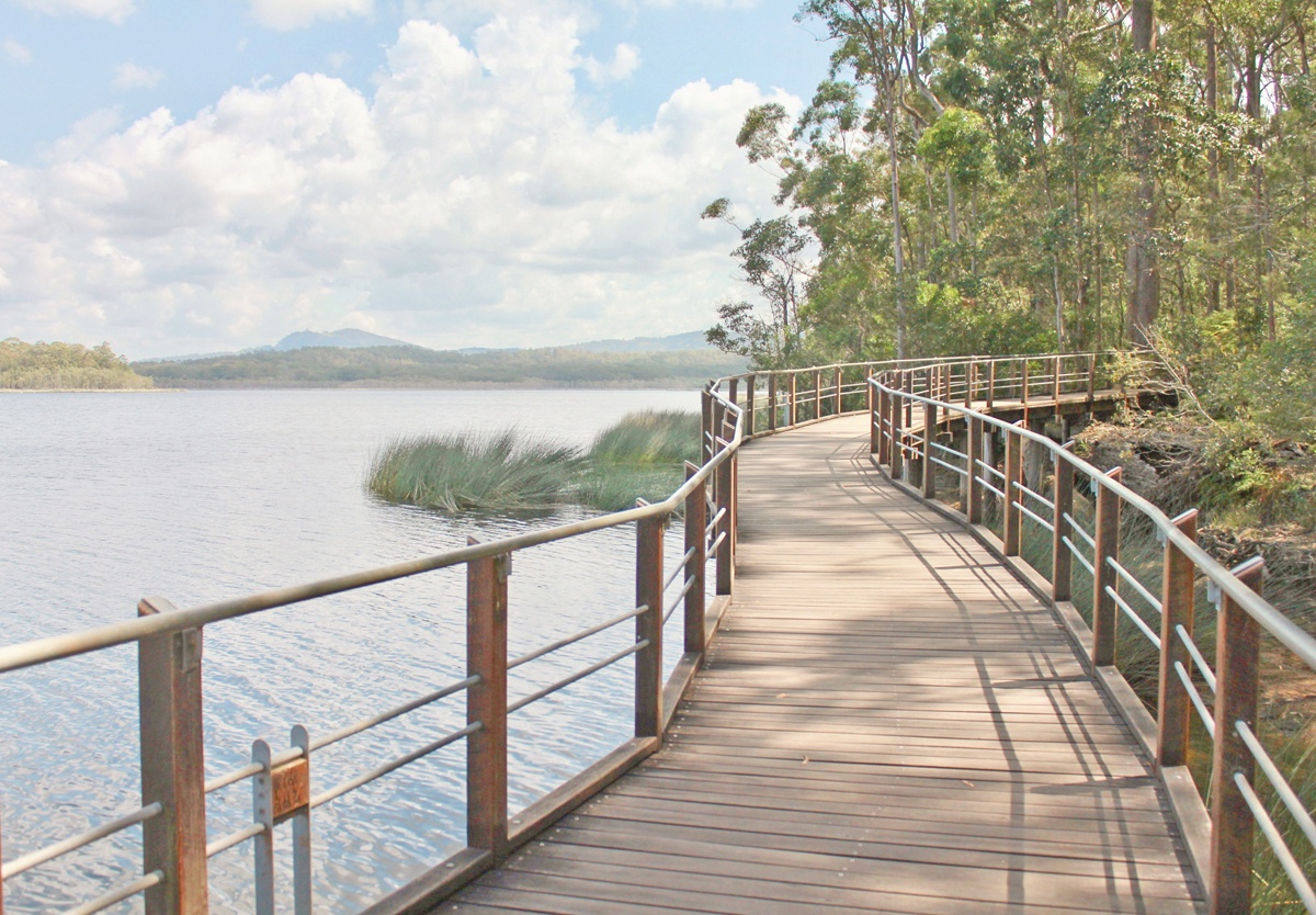 Clint and Ria's local environment: Ewen Maddock Dam