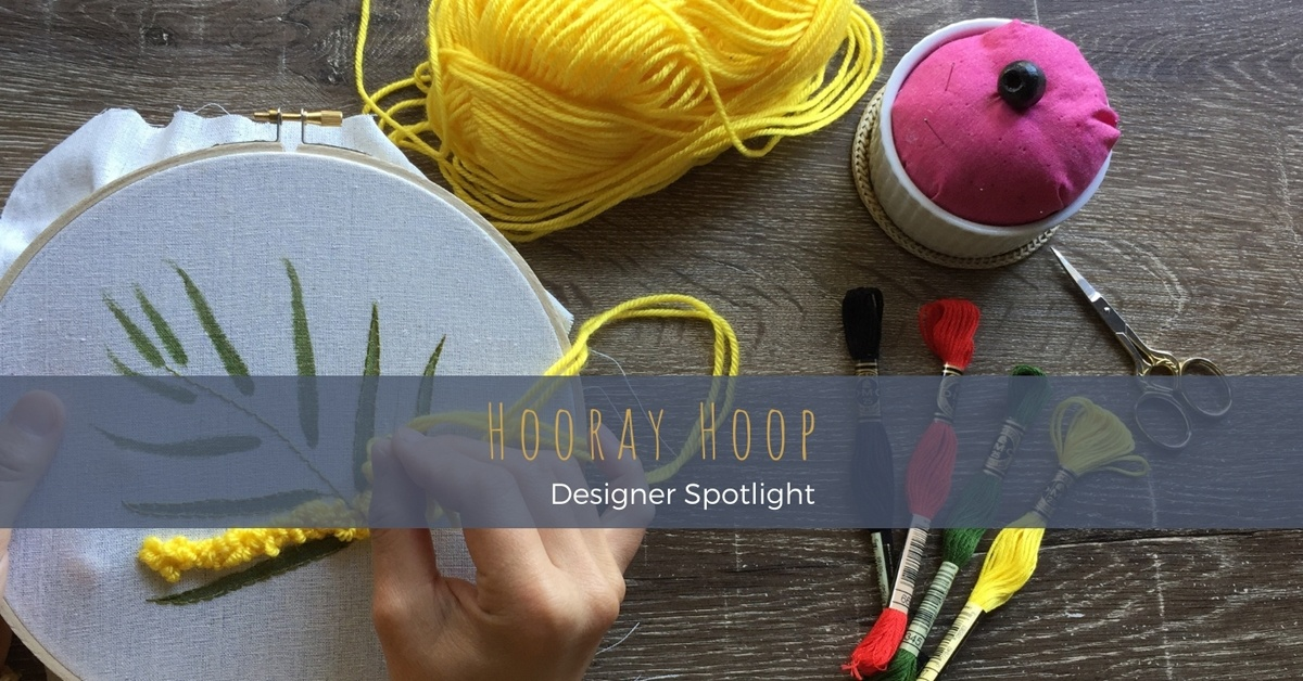 Thai-born artist, Jo, shares her embroidery, sketching and watercolour skills through original design DIY modern embroidery kits, tutorials and demonstrations online and from her new Geelong store