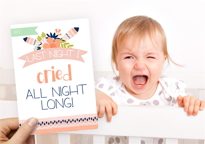 Hip Ink Hooray Novelty Baby Moments and Milestone Cards