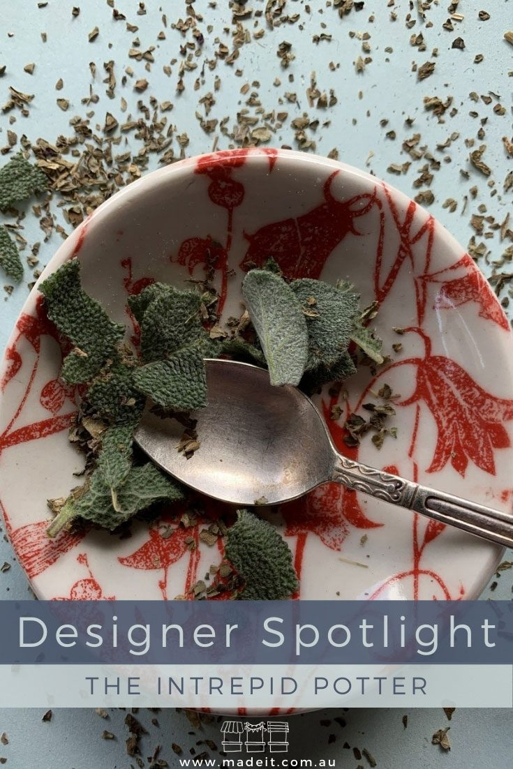 Inspired by her travel experiences and driven by an innate need to create from simple materials, Teresa has explored many creative avenues before launching her porcelain homewares and accessories brand, The Intrepid Potter.