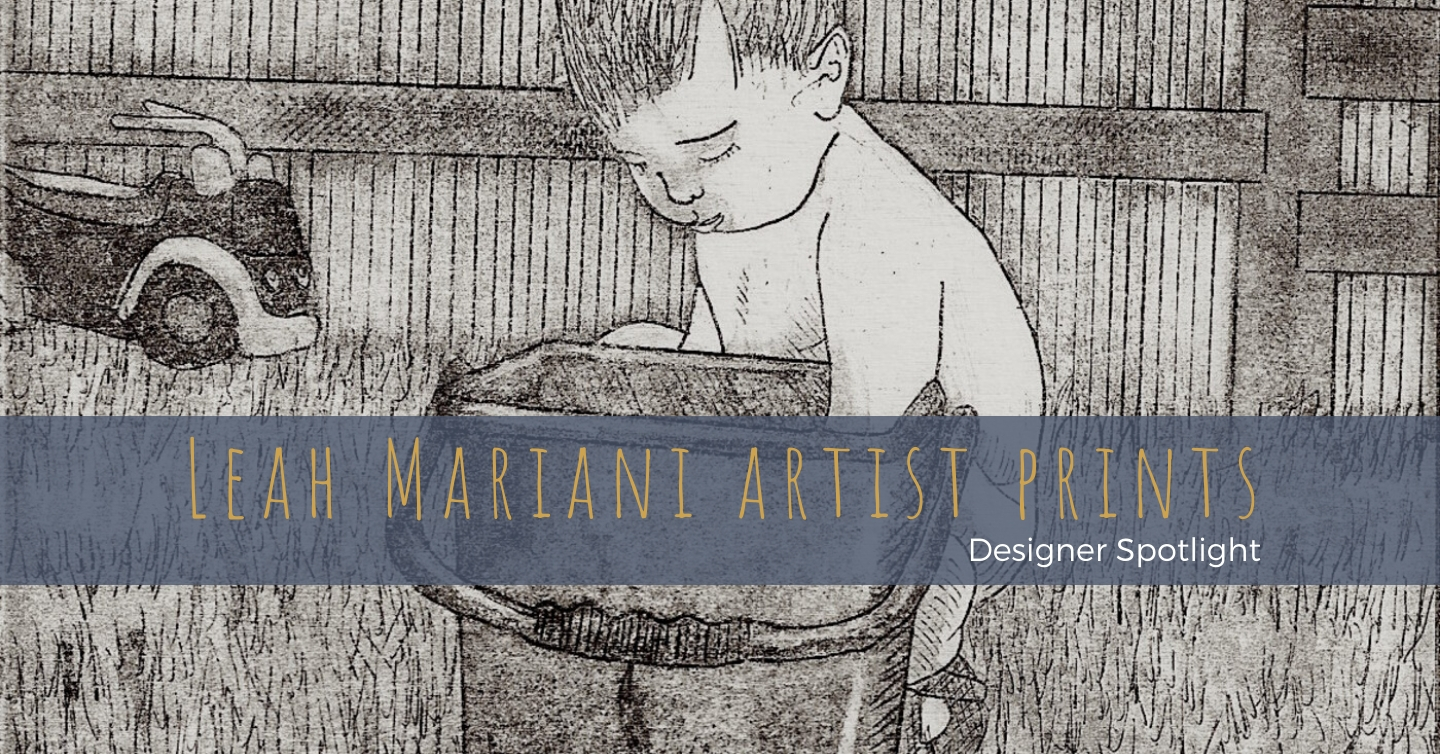 Leah Mariani chose the creative path of a visual artist over her accounting profession when she became a mother and needed an outlet for herself. Working across print-making, oils, collage and drawing, Leah's works examine themes of identity and gender roles