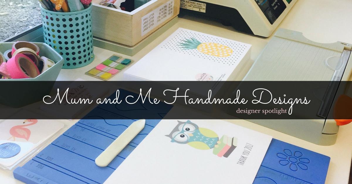 Life-long crafter, Katrina, creates beautiful illustrated cards.